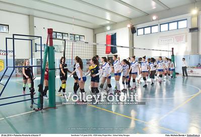 Semifinale 1º-4º posto [U16]: «F229 Volley Project Mira - School Volley Perugia»