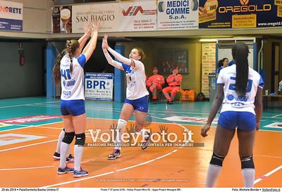 Finale 1º/2ª posto [U16]: «Volley Project Mira VE - Appia Project Mesagne BR»