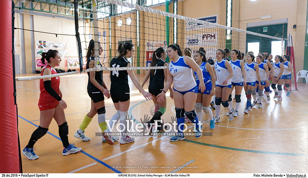 GIRONE B [U16]: School Volley Perugia - GLM Boville Volley FR