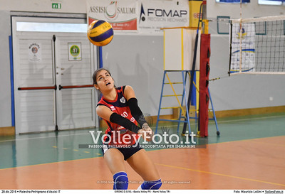 GIRONE D [U18]: «Bastia Volley PG - Narni Volley TR»