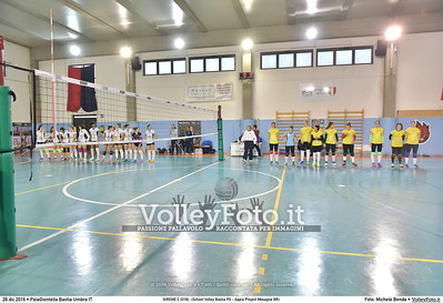 GIRONE C [U18]: «School Volley Bastia PG - Appia Project Mesagne BR»