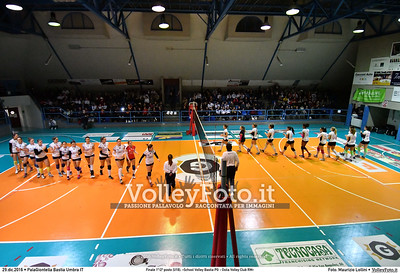 Finale 1º/2ª posto [U18]: «School Volley Bastia PG - Ostia Volley Club RM»