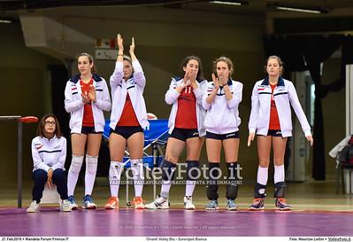 Chianti Volley Blu - Euroripoli Bianca Finale Provinciale Firenze Under 16 Femminile  Nelson Mandela Forum Firenze, 21.02.2016 FOTO: Maurizio Lollini © 2016 Volleyfoto.it, all rights reserved [id:20160221._LM06693]