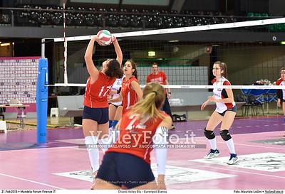 Chianti Volley Blu - Euroripoli Bianca Finale Provinciale Firenze Under 16 Femminile  Nelson Mandela Forum Firenze, 21.02.2016 FOTO: Maurizio Lollini © 2016 Volleyfoto.it, all rights reserved [id:20160221._LM06721]