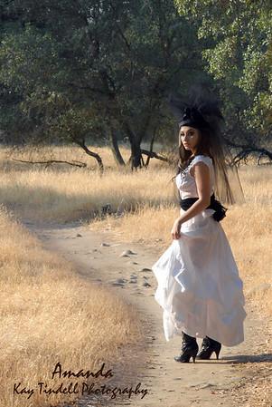 Amana Girl in White
