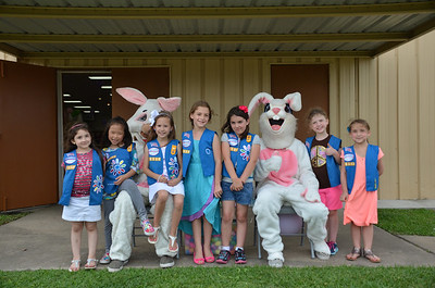 April 27, 2014 - Daisy Scout Troop at Beeping Eggstravaganza