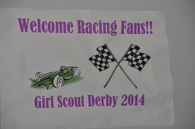 February 1, 2014 - Girl Scouts Powder Puff Derby Races