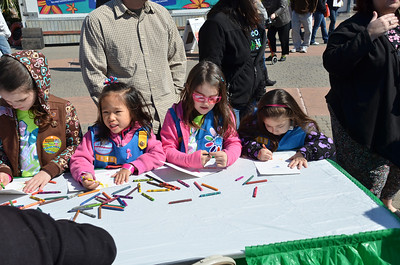 March 2, 2013 - Girl Scout Day at Kemah Boardwalk