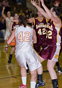 Wyoming Valley West @ Redeemer Varsity Girls_020110_0011
