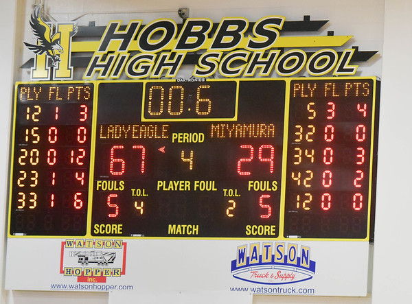 Hobbs Holiday Tournament Day 1 - Dec. 28