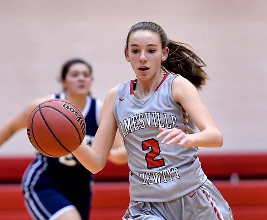 Jamesville - DeWitt vs Homer - Girls Basketball Dec 22, 2016