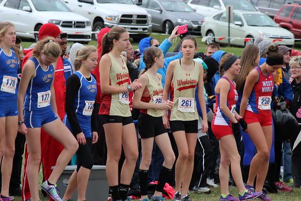 Girls XC Regionals