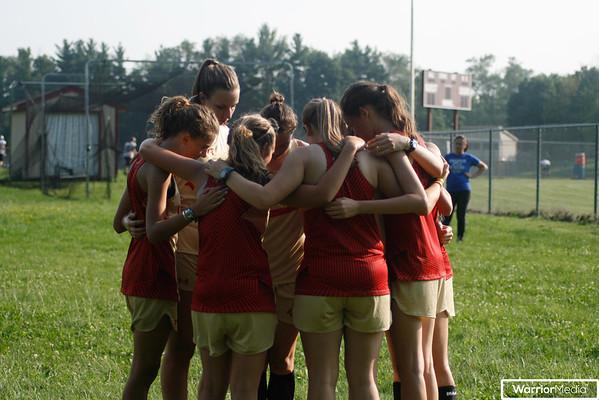 Girls XC vs. Lakeland, C. Noble, and P. Heights