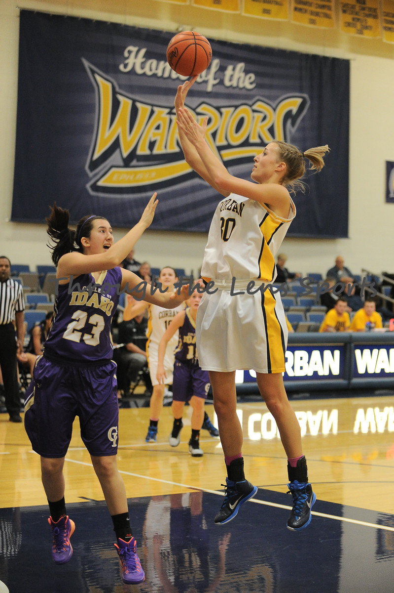 Corban vs. College of Idaho Womens Basketball