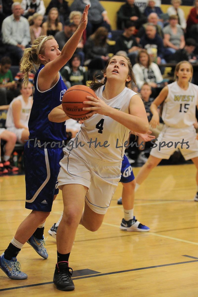 Grants Pass vs. West Albany Girls HS BB