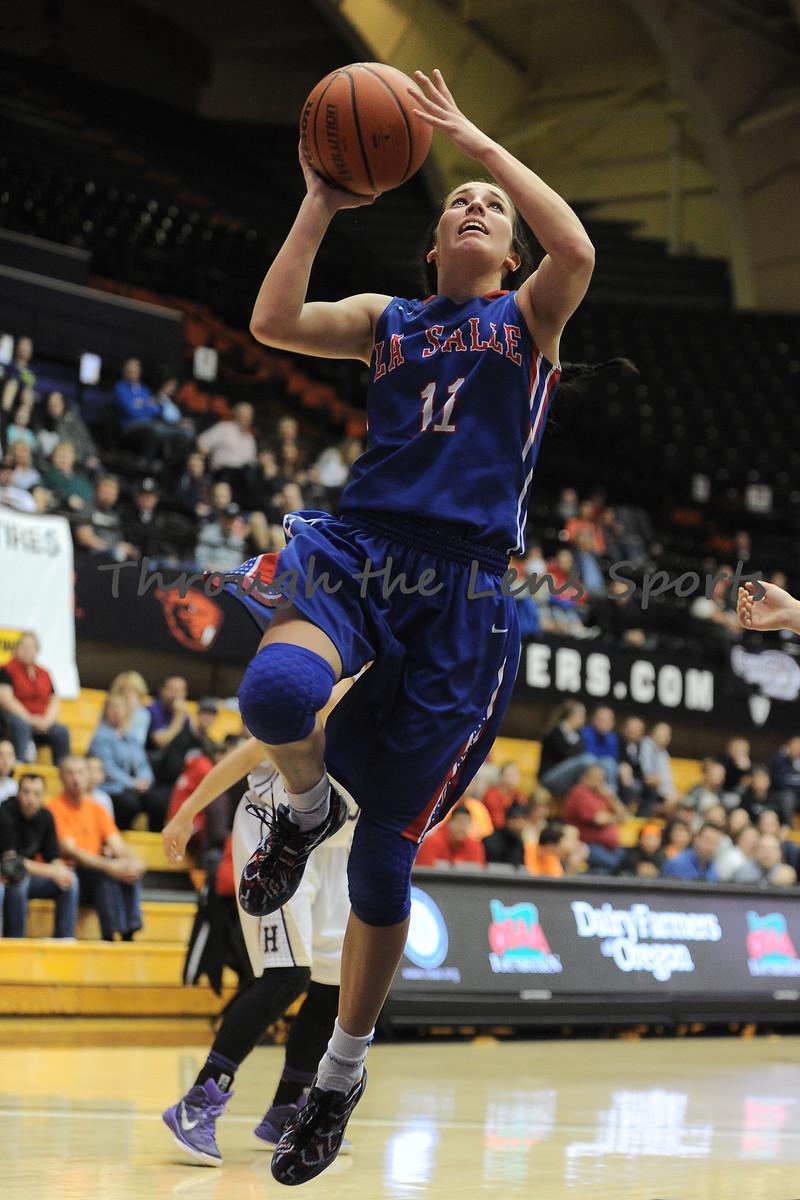 LaSalle vs. Hermiston 5A Girls Basketball Championship