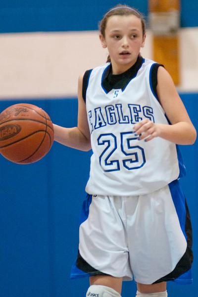 Scott's #25 6th grader (GD) Ally Neice.   (The Journal News/Scott Davis)