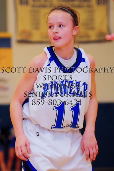 Simon Kenton Abby Owings showed why she one of the best freshman point guards in Northern KY.