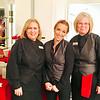 Lenzi's Waitresses left Gail Friado of Billerica, Crystal Graham of Lawrence, Denise Belleville of Lowell