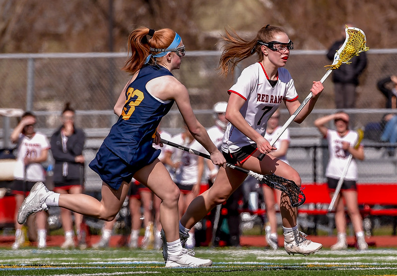 Jamesville-DeWitt vs West Genesee - Girls Lacrosse - April 6, 2019