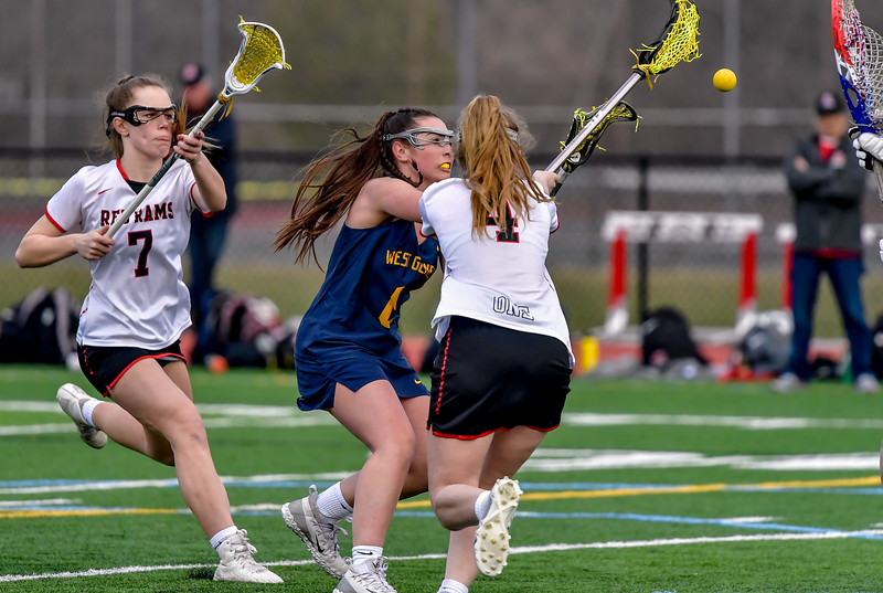 Jamesville-DeWitt vs West Genesee - Girls Lacrosse - April 6, 2019