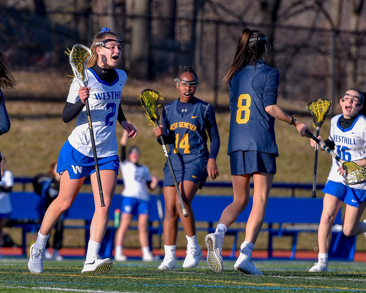 West Genesee at Westhill - Girls Lacrosse - March 27, 2019