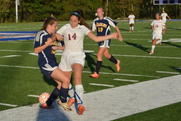 2013-10-15 Dayton Girls Varsity Soccer vs Brearley #4 of 4
