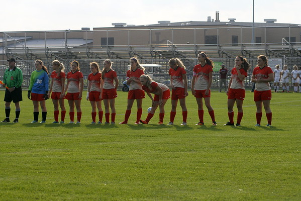 Girls Soccer vs. Garrett (Sectional Semi-Finals)