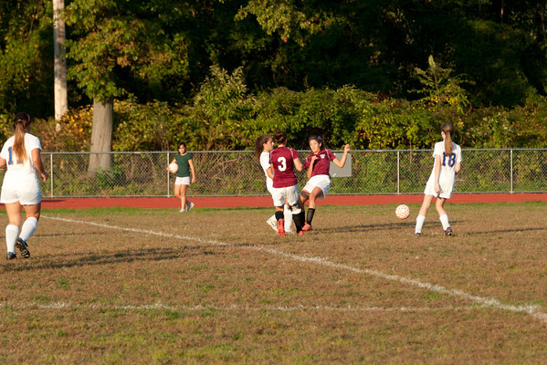 2012-10-05 Dayton Girls Varsity Soccer vs Roselle Park - Conf. Series #6 of 8