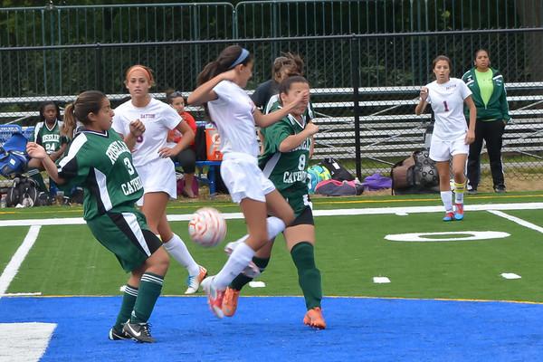 2013-09-27 Dayton Girls Varsity Soccer vs Roselle Catholic #4 of 5