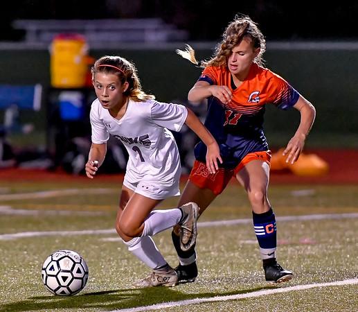 East Syracuse Minoa vs Central Square - Girls Soccer - Oct 8, 2019
