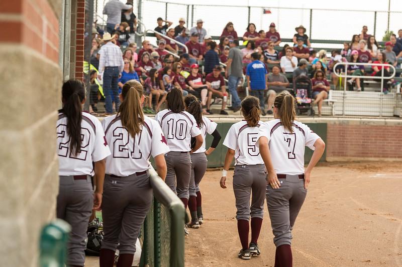 Lady Lopes Baseball vs Ralls, 5-14-2015