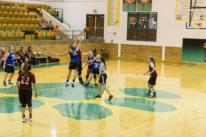Lady Lopes Summer B-Ball vs Nazareth, 6-6-2014