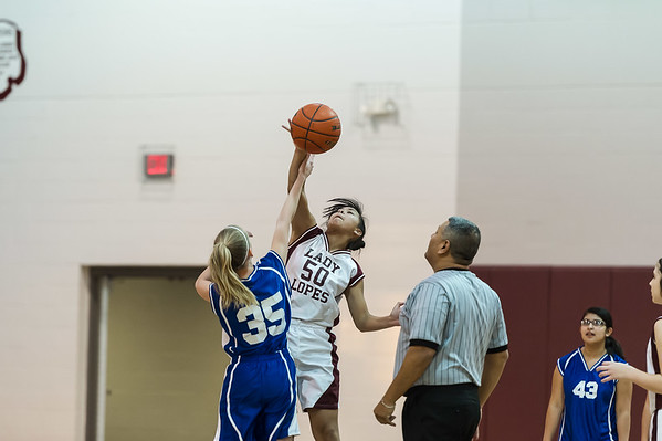 LadyLopes 7th and 8th B vs Olton, 1-19-2015