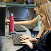 "The holidays are over and the ""Girls Who Code"" class was back in full swing at the Boys and Girls Club of Fitchburg and Leominster Saturday, January 5, 2019. KLaterina Soubbotin, 9, gets right to work during class on Saturday. SENTINEL & ENTERPRISE/JOHN LOVE"