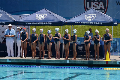 SwimOutlet.com Junior Olympics 2011 - Platinum Division 12U Girls Championship Game - Santa Barbara Water Polo Club A vs Laguna Beach 8/7/11. Final score 11 to 5. First Place SBWPC vs LBWPC. Photos by Allen Lorentzen.