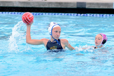 SwimOutlet.com Junior Olympics 2011 - Platinum Division 12U Girls Semi-Final Game - Santa Barbara Water Polo Club A vs Foothill Club 8/7/11. Final score 10 to 8. SBWPC vs FCWP. Photos by Allen Lorentzen.