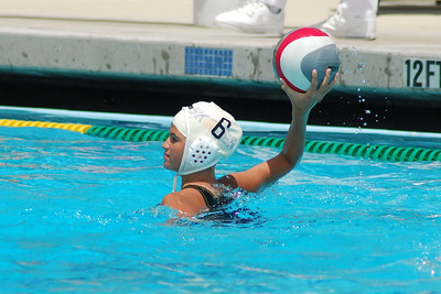 S & R Sport Junior Olympics 2009 - Platinum Division 12U Girls - Los Alamitos Water Polo Club vs San Diego Shores 7/31/09. Final score 7 to 3. Los Al vs SDSWPC. Photos by Allen Lorentzen.