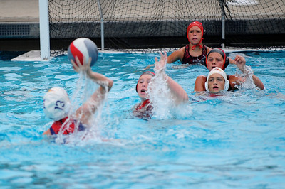 S & R Sport Junior Olympics 2009 - Platinum Division 12U Girls - Los Alamitos Water Polo Club vs Diablo 7/30/09. Final score 13 to 1. Los Al vs DWPC. Photos by Chris Preston.