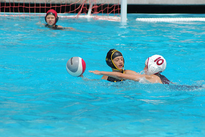 S & R Sport Junior Olympics 2009 - Platinum Division 12U Girls - Laguna Beach Water Polo Club vs SoCal 7/31/09. Final score 7 to 3. LBWPC vs SCWPC. Photos by Allen Lorentzen.