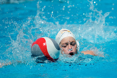 S & R Sport Junior Olympics 2009 - Platinum Division 12U Girls - Los Alamitos Water Polo Club vs Xtreme 7/30/09. Final score 15 to 7. Los Al vs XWPC. Photos by Chris Preston.