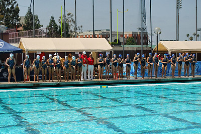 S & R Sport Junior Olympics 2010 - Platinum Division 14U Girls Third Place Game - Santa Barbara Water Polo Club vs Elite 8/8/10. Final score 10 to 9 Shoot Out. SBWPC vs EWPC. Photos by Allen Lorentzen.