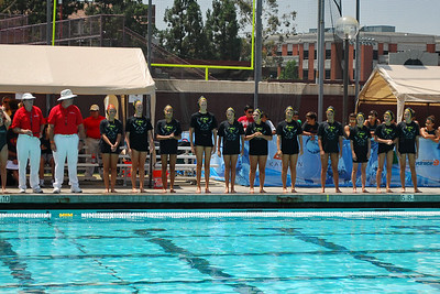 S & R Sport Junior Olympics 2010 - Platinum Division 14U Girls First Place Game - Commerce Water Polo Club vs Socal 8/8/10. Final score 7 to 4. CWPC vs SWPC. Photos by Allen Lorentzen.