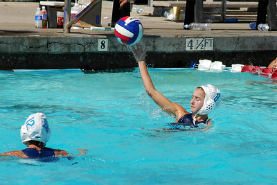 Junior Olympics 2008 - Platinum Division 14U Girls - Santa Barbara Water Polo Club vs Huntington Beach 7/31/08. Final score 7 to 4. SBWPC vs HBWPC. Photos by Allen Lorentzen.