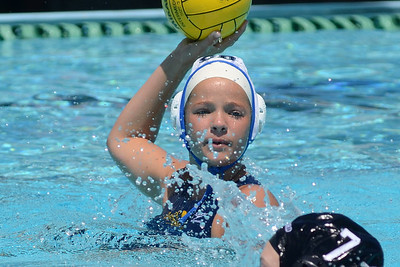 SwimOutlet.com Junior Olympics 2011 - Platinum Division 14U Girls Fifteenth Place Game - Stanford Water Polo Club Red vs Santa Barbara B 8/7/11. Final score 7+3 to 7+1 Overtime Shootout. 15th Place SWPC vs SBWPC. Photos by Allen Lorentzen.