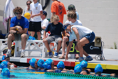 Junior Olympics Coastal Zone Qualifier Tourney 2008 Finals - Santa Barbara Water Polo Club vs Commerce 14U Girls 6/8/08. Final score 6 to 7. SBWPC vs Commerce