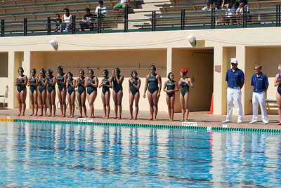 S & R Sport Junior Olympics 2009 - Platinum Division 14U Girls Championship Game - Santa Barbara Water Polo Club vs Commerce 8/2/09. Final score 6 to 5. Gold Medal SBWPC vs CWPC. Photos by Allen Lorentzen.