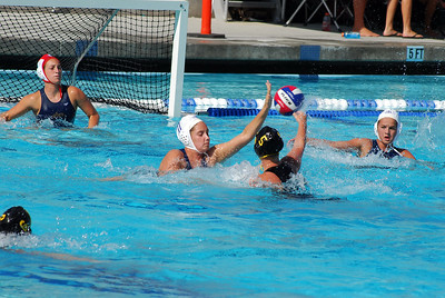 Junior Olympics 2008 - Platinum Division 16U Girls - Santa Barbara Water Polo Club vs SoCal Black 8/2/08. Final score 7 to 8. SBWPC. Photos by Allen Lorentzen.