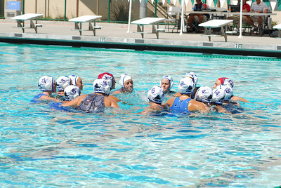 S & R Sport Junior Olympics 2009 - Platinum Division 16U Girls Third Place Game - Huntington Beach Water Polo Club vs Santa Barbara 8/2/09. Final score 4 & 4 to 4 & 3 shoot out. Bronze Medal HBWPC vs SBWPC. Photos by Allen Lorentzen.