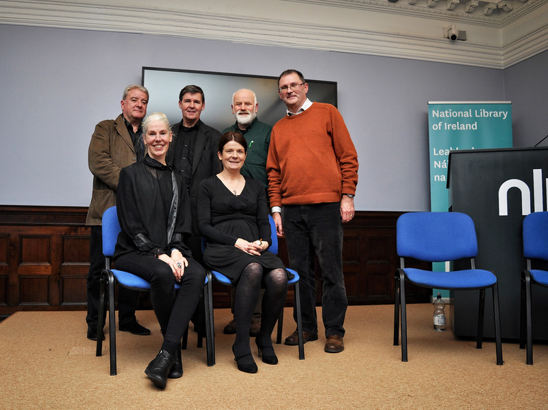 (standing l-r) Ciaran Tourish, Declan Brennan, MJ Sullivan, Conor O'Malley – (seated l-r) Mia Gallagher, Una McNulty.